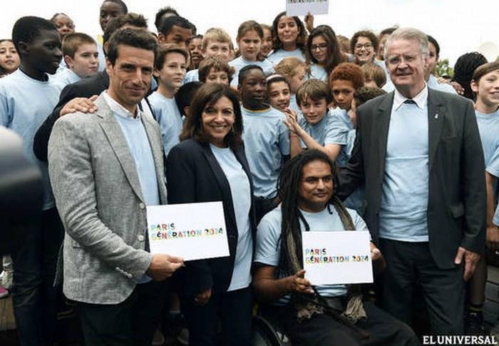 París presenta oficialmente candidatura a los Juegos Olímpicos 2024