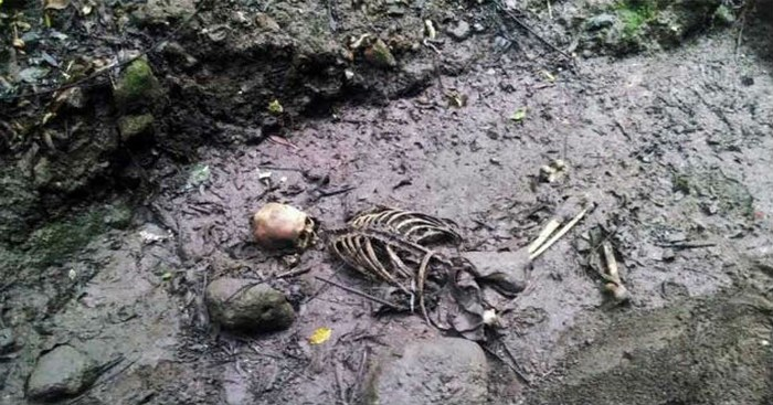 Topos de México hallan osamenta en el Bosque de Chapultepec