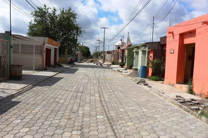 Obras Públicas mantienen el trabajo en el municipio de Sabinas