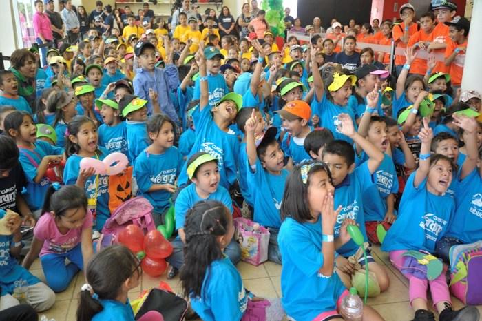 Saltillo: Inician 600 niños Cursos de Verano en Biblioparques