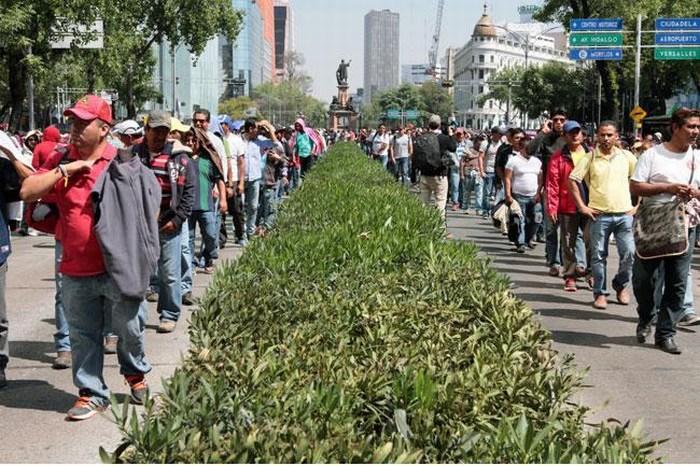 CNTE alista manifestación a Los Pinos