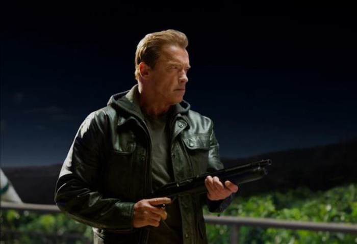 """Schwarzenegger regresa con un """"Terminator"""" bueno y con ojos de suegro"""