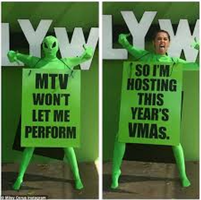 Miley Cyrus presentará premios MTV Video Music Awards