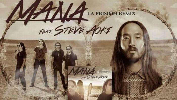 Maná estrena remix con Steve Aoki