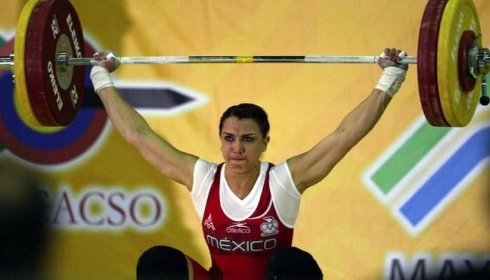 Pesista mexicana da positivo en doping y se va de Panamericanos.
