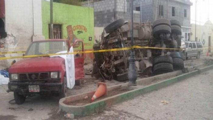 Más de 23 muertos tras la embestida de un camión a un grupo de peregrinos en México