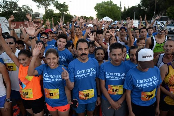 Saltillo: Última semana para inscribirse en la Carrera 5k Jóvenes en Acción