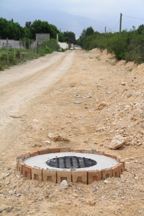 Saltillo: Benefician a colonos de Los Ramones con drenaje