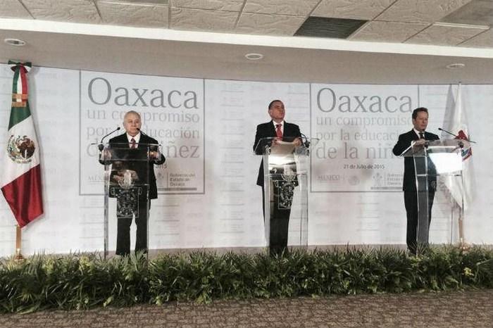 Cué desaparece el Instituto de Educación en Oaxaca