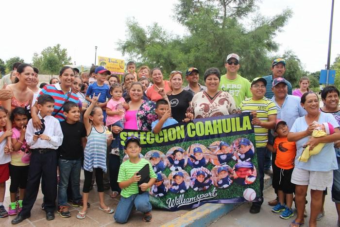 Sabinas va a Sonora por el campeonato de béisbol infantil