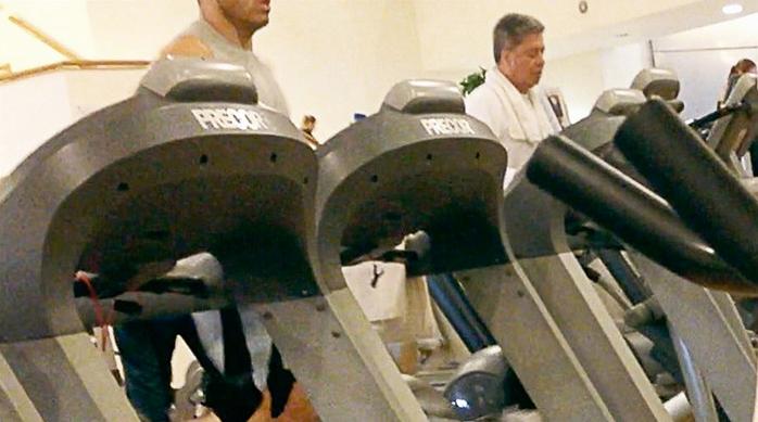 Captan a contralor de Nuevo León en el gym en horas laborales