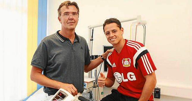 Chicharito jugara con el Bayer Leverkusen hasta 2018