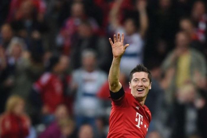 Lewandowski y cinco goles en una noche de récords