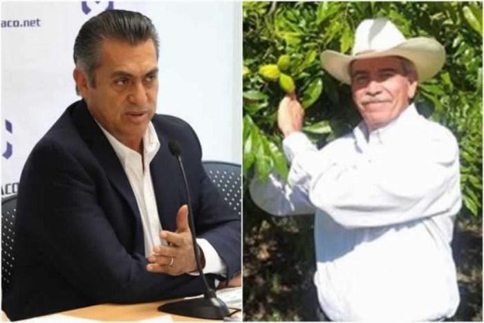 El Bronco apadrina a ex priísta para gobernador de Coahuila.