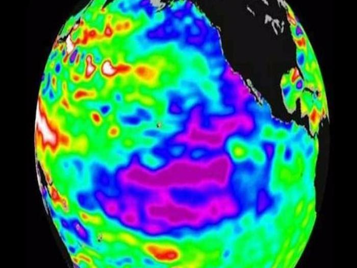 """Fenómeno de """"El Niño"""" será de los más intensos en los últimos 65 años"""