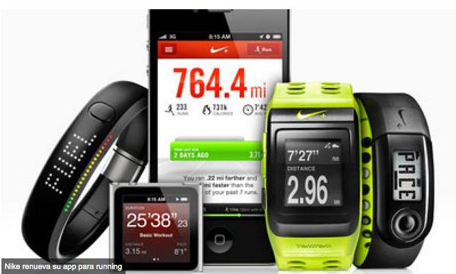 Nike renueva su app para running