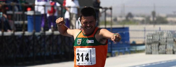 Mexicano destaca en el Mundial de Atletismo Down