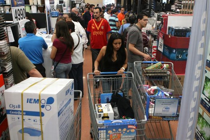 Ventas minoristas en México caen a su nivel más bajo desde agosto de 2013