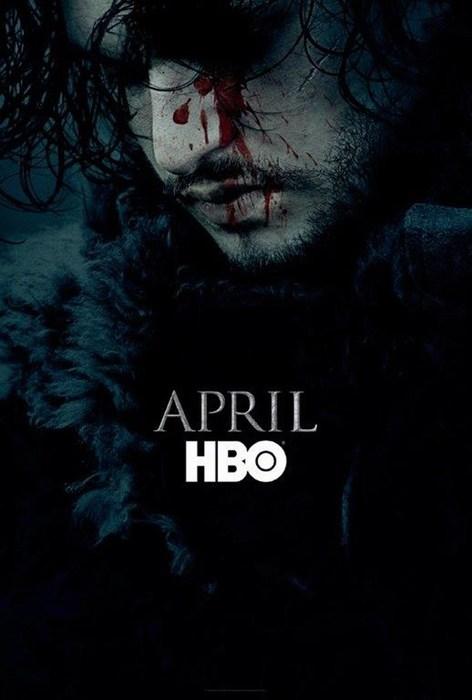 Revelan póster de la sexta temporada de Game of Thrones.