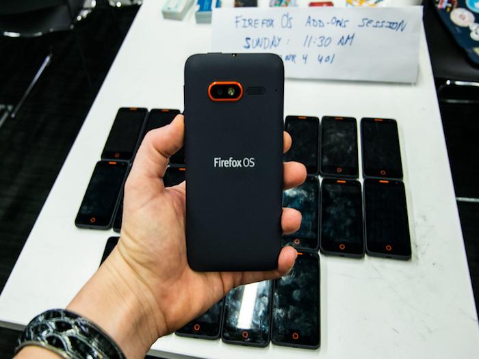 Firefox OS y los smartphones: la intención no contó lo suficiente.