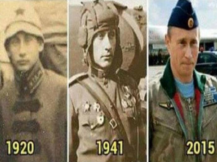 Ofrecen 'pruebas' de que Vladímir Putin es inmortal