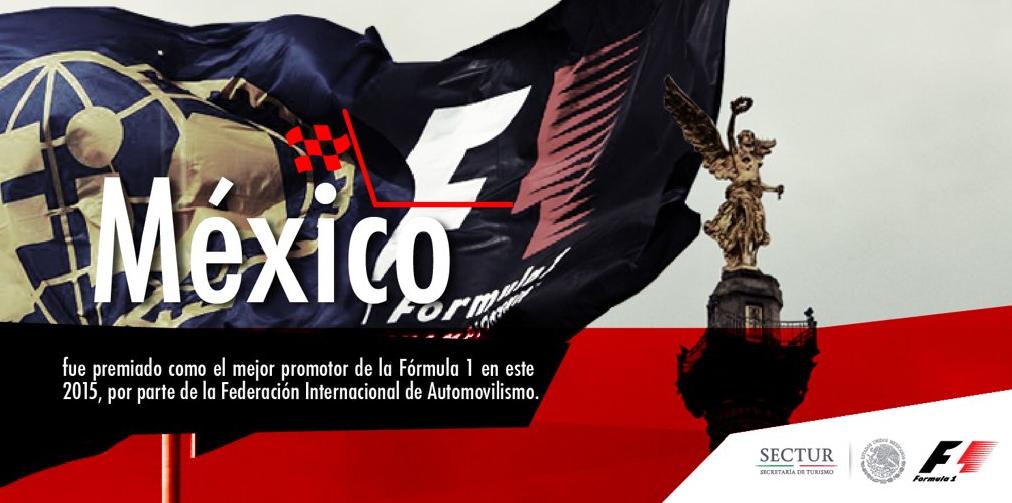 México, mejor promotor de Fórmula 1 en 2015