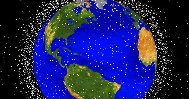 Nueve de cada 10 objetos que orbitan la Tierra son basura