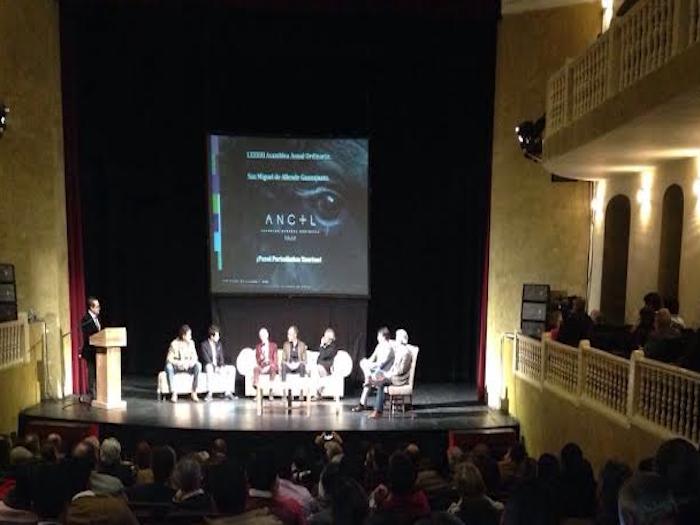Armando Guadiana Tijerina en Asamblea Anual de la Asociación Nacional de Criadores de Toros de Lidia
