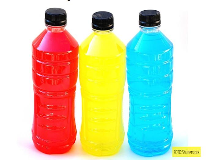 Bebidas con azúcar para atletas