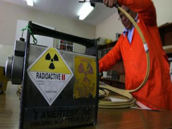 Roban material radioactivo en Querétaro