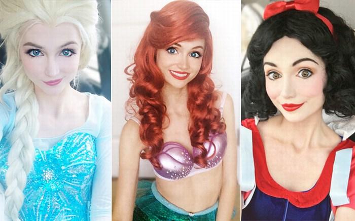 Mujer gasta millones de dólares para verse como princesas de Disney GALERÍA