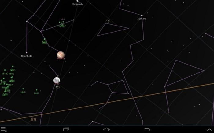 Las siguientes noches podrás ver Júpiter junto a la luna
