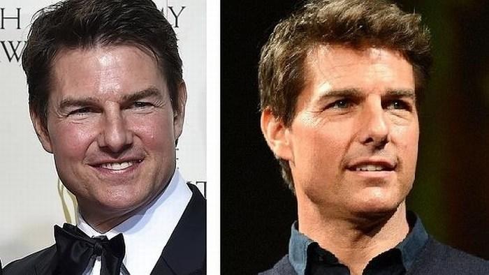 Tom Cruise se ha inyectado demasiado ácido hialurónico y por ahora parece un muñeco