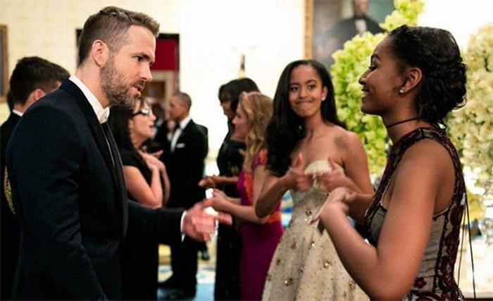 La foto viral de la 'coqueta' hija de Obama y Ryan Reynolds