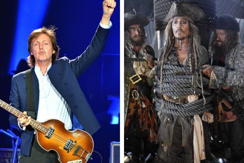 """Paul McCartney se une al elenco de la película """"Piratas del Caribe 5"""""""