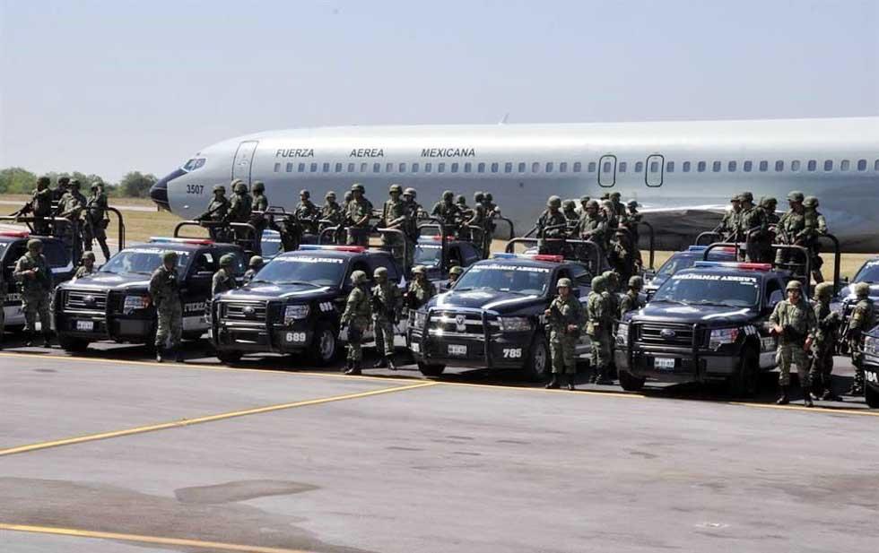 Refuerzan Tamaulipas con 900 militares