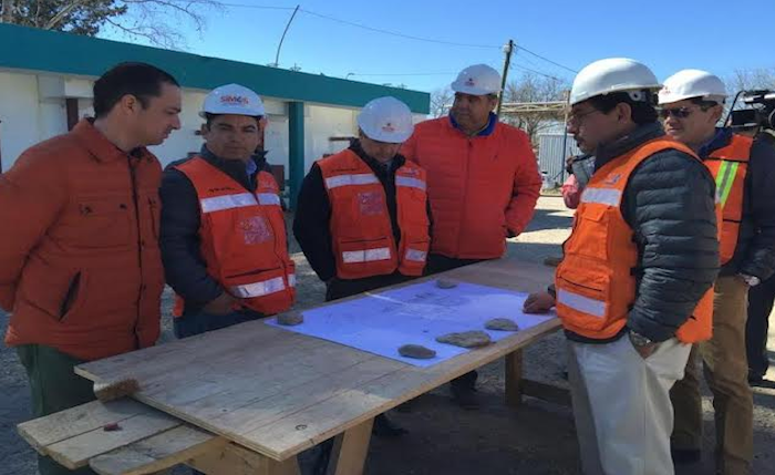 ACUÑA: ALCALDE DESTRABA RECURSOS PARA OBRA DE PLANTA POTABILIZADORA I.