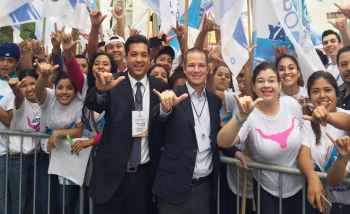 Ricardo Anaya que Cabeza de Vaca ya es el gobernador de Tamaulipas