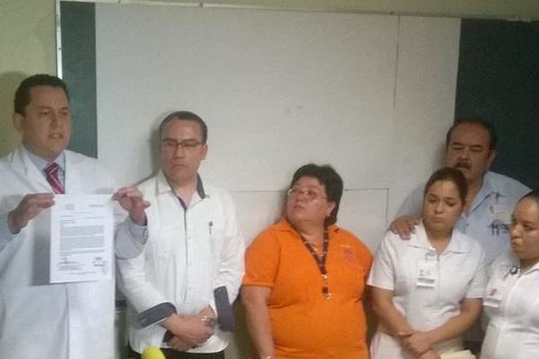 Niegan enfermeras del ISSSTE apoyo a director