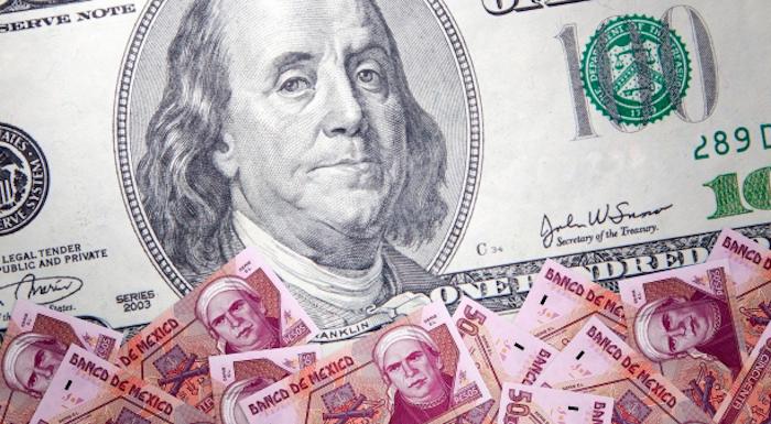ECONOMÍA Dólar vuelve a rebasar la barrera de los 19 pesos