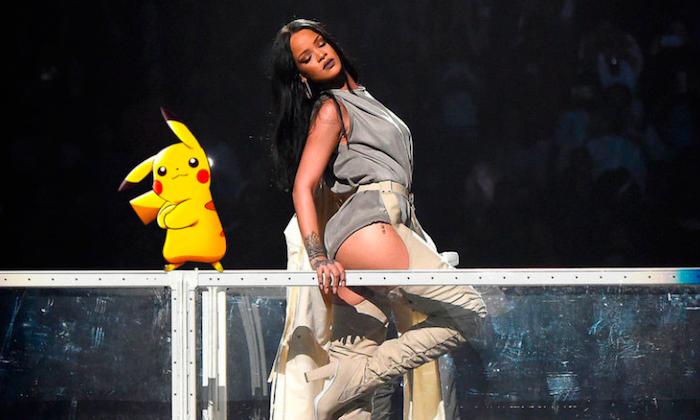 Rihanna no quiere que sus fans capturen Pokémon durante sus conciertos.
