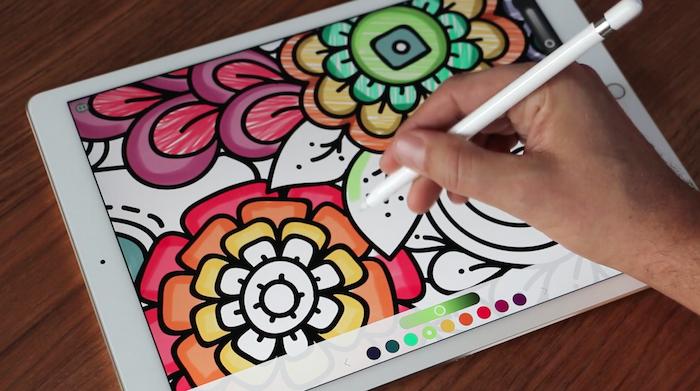 Pigment o el placer de colorear dibujos en tu iPhone y iPad.