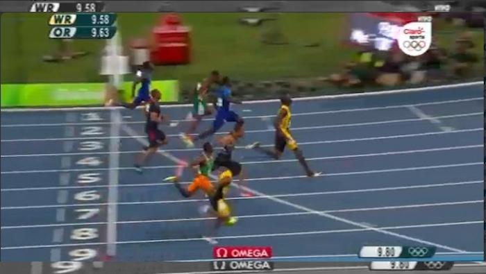 """""""El hombre más rápido sobre la tierra"""": Bolt agranda su leyenda con otro Oro en los 100m"""
