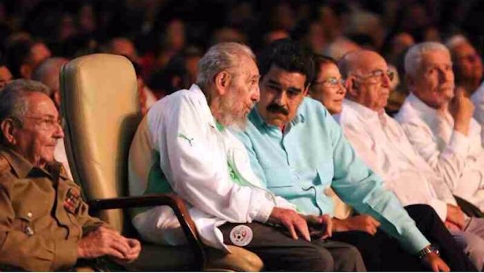Señalan a Maduro de celebrar cumpleaños de Fidel Castro con erario público