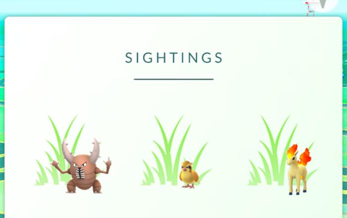 Nueva actualización de Pokémon Go introduce un renovado sistema de rastreo de pokémon