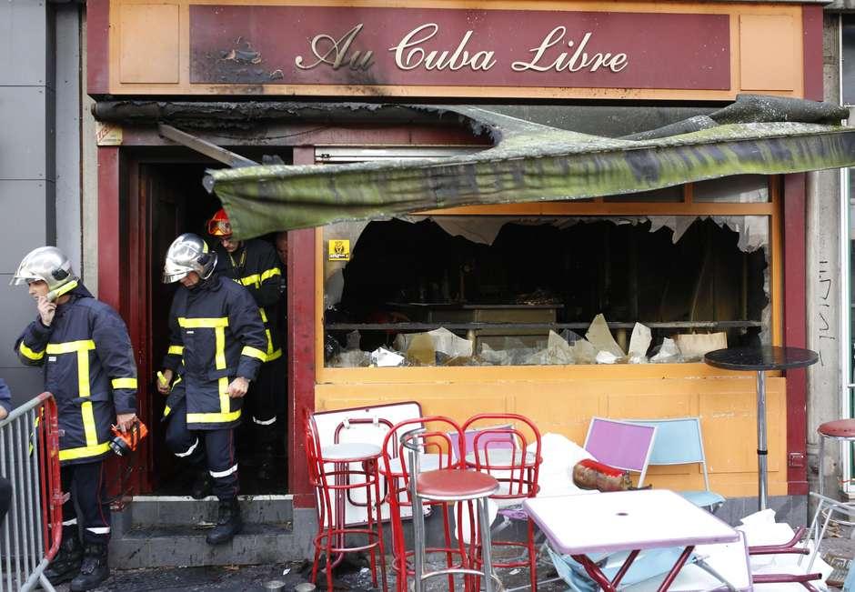 13 muertos en un cumpleaños por un incendio en un bar de Rouen