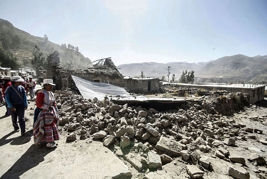 Sismo en Perú deja 4 muertos y 52 heridos
