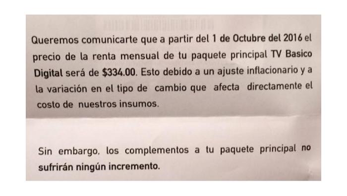 También Televisa aumenta precios en TV de paga por dólar