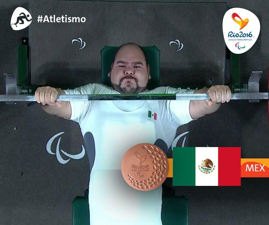 Mexicano José Castillo conquista bronce en levantamiento de potencia