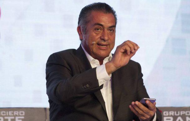 """Gobernador de Nuevo León se """"autodestapa"""" para 2018"""